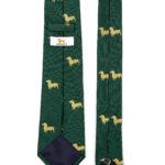 103 Krawatte Dackel Gold 3