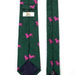 104 Krawatte Dackel Pink 3